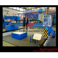 Single Side CNC Flame Cutting Machine With Cutting Torches , Siemens / Schneider Electrical Parts Manufactures