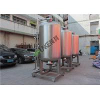 China GAC System Carbon Tank Sand Filter Housing Vessel For Filtration Matt Face on sale