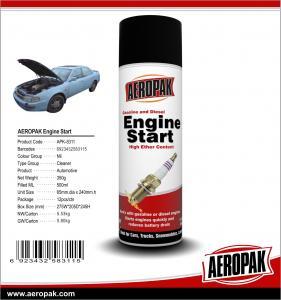 AEROPAK 500ML aerosol spray can gasoline and diesel Engine Starter Manufactures