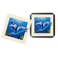 Modern 3d Custom Lenticular Printing With PS Frame , 5d Deep Effect Photos Manufactures