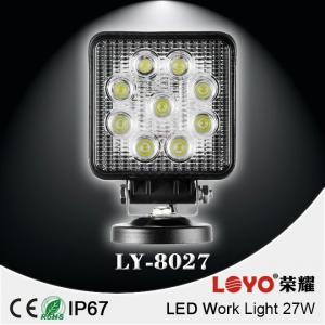 China Offroad led work light Auto led working lights hot sales 9leds 27W led work light for trucks on sale