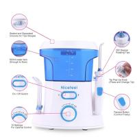 household oral care ultra mouse rinse water jet toothbrush with tongue cleaner Manufactures