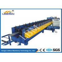 75mm Roller Shaft C Z Purlin Roll Forming Machine , C Shape Purlin Making Machine Manufactures