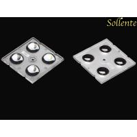 High Efficiency 60 Degree 4 In 1 Led Lens Array For High Bay Light Module Manufactures