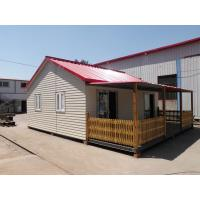 China Beautiful Light Steel Structure Villa , Movable Steel Building Homes on sale