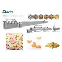 DR -280 Stainless Steel Colored Dog Biscuit Making Machine With Stable Performance Manufactures