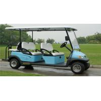 Electric Vehicle 6 Seater Golf Cart , Multi Passenger Golf Carts For Club Manufactures