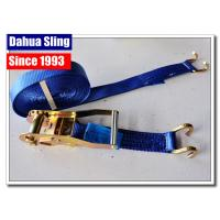 Open Hook Over The Wheel Tie Down Straps , Industrial Ratchet Straps 3325 Lbs Manufactures