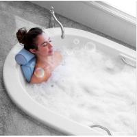 3D Mesh Home Spa Bath Pillow With 4 Suction Cups , Neck & Back Support Manufactures