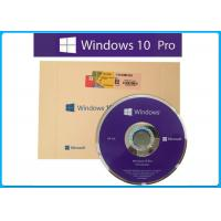 Geniune Microsoft Windows 10 Pro Professional  French 64 Bit DVD package  / Made in Germany original key activated Manufactures