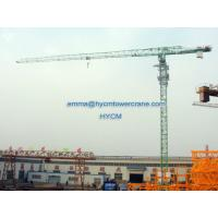 Topless QTP6016 10 ton 60m Work Lifting Jib Specifications Tower Crane Manufactures