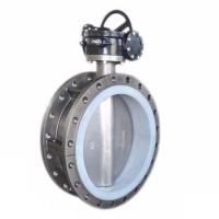 Quality STAINLESS STEEL SS304 SS316 CONCENTRIC DOUBLE FLANGE BUTTERFLY VALVE BKVALVE for sale