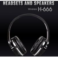 Quality Wireless Bluetooth Headsets and Speakers Support FM and TF mp3 Player H666 for sale