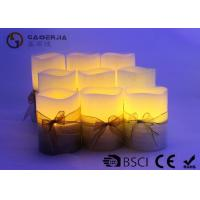 3pk LED candle FlamelessCandle Christmas candle painting with silkribbon Manufactures