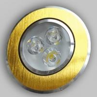 Balas Gold Color LED Spot Light Bulbs with Anti-glare Reflector , Warm White 12W Manufactures