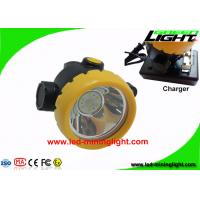 Buy cheap Black Cordless Coal Mining Lights 4000 Lux All In One With Lithium Ion Battery from wholesalers