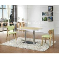 Ss Leg Square Restaurant Tables And Chairs , Hotel And Restaurant Furniture Manufactures