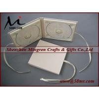 Double Cotton Fabric Linen CD DVD Album Manufactures
