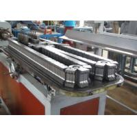 China PP / PE Elelctrical Wire Pipe Plastic Single Screw Extruder Machine on sale