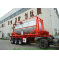 20FT Steam Heating Insulated Tank Container Stanless Steel For Yellow Phosphorus  P4 Manufactures