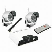 China Wireless CCTV Camera Kit with 100m Receiver Transmission Distance on sale