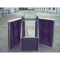 Rack Flight Case 14U ShockProof Three Door Case 9mm Plywood With 1mm Color Fireproof Wood Manufactures