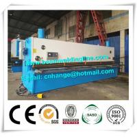 Guillotine Type NC Metal Shearing Machine QC11Y , Hydraulic Shearing Machine Manufactures