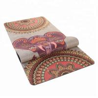 Buy cheap Non-slip Durable Exercise Suede Women Beiginners Yoga Mat from wholesalers