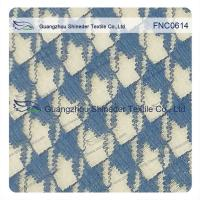 Classic Houndstooth  Irregular 42% Nylon 58% Cotton Fabric for casual wear Manufactures