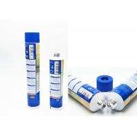 China Dyeing Cream Aluminum Collapsible Tubes Offset Printing With PP / Ps Plastic Cap on sale