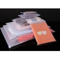 T Shirt Garment Plastic Packaging Bags , Clear Plastic Bags With Custom Service Manufactures