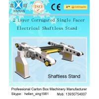 Auto Carton Packing Machine Single Facer Corrugated Paperboard Production Line