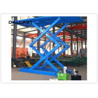 Double Acting Single Piston Hydraulic Scissor Lift for Engineering Machinery Manufactures