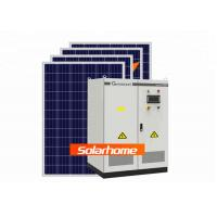 100Kw Hotels Solar Panel Power System Normal Home Solar Power System Manufactures