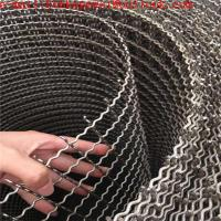 stainless steel wire Material and Plain Weave Weave Style stainless steel crimped wire mesh/Red Color Crimped Screen Wir Manufactures