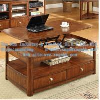 Wooden living room furniture, wooden coffee table, wood lift coffee table Manufactures