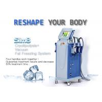 Powerful Multifunctional Cryolipolysis Machine Cellulite Reduction Machine With 4 Handpieces Manufactures