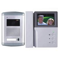 Video Door Phone With 3.5'' Color&4'' B/W Screen and Handset Manufactures