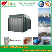 Carbon Steel Boiler Air Preheater / Airpreheater Boiler Spare Part Fire Prevention Manufactures