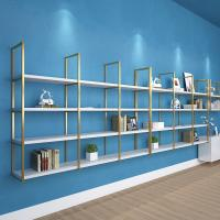 Interior Decorative Stainless Steel Shelf Rack For Shopping Mall Manufactures