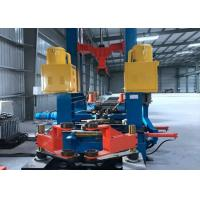 Steel Frame H Beam Welding Line Assembly Welding Straightening High Efficiency Manufactures