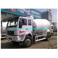 China ISO / CCC / BV approved  cement mixer truck 4 m3 for concrete batching plant on sale