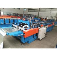 Portable KR-18 Standing Seam Roofing Snap Lock Forming Machine For Sheet Manufactures