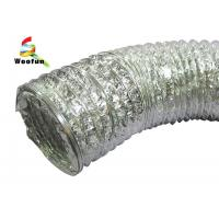 Quality HVAC Air refresh fire resistant customized sizes aluminum foil flexible duct , for sale