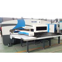 Servo Motor Driven Ram CNC Punch Press Machine With FAGOR Control System Manufactures