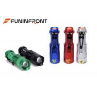 Quality CREE XPE Q5 Zoomable MINI LED Flashlight with 3 Light Modes, Pocket LED Torch for sale