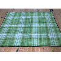 Colorful Outdoor Water Resistant Picnic Blanket  Multi Functional Folding Manufactures