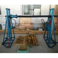 Easy Moving Cable Drum Stand / Elevator , Cable Jack Stand 5 - 20 Ton Manufactures