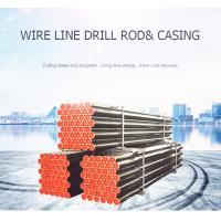 Quality Wireline Q  threads Core Drilling Rod BQ NQ HQ PQ For Mining Exploration for sale