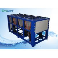 Outdoor 40 Ton Commercial Water Chiller Package Unit Vertical Water Pump Manufactures